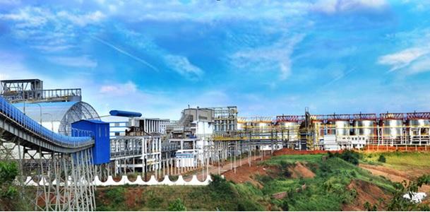 Nhà máy Alumin Nhân Cơ - Đắk Nông