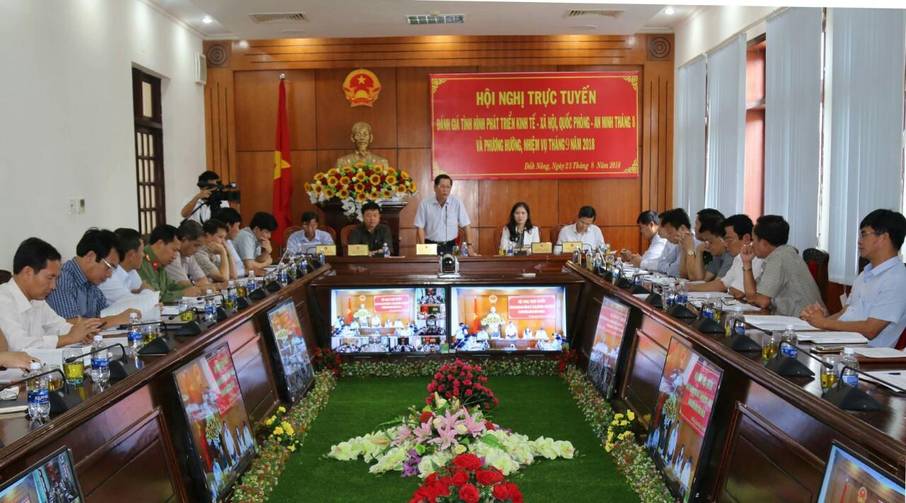 Hội nghị trực tuyến đánh giá tình hình phát triển
