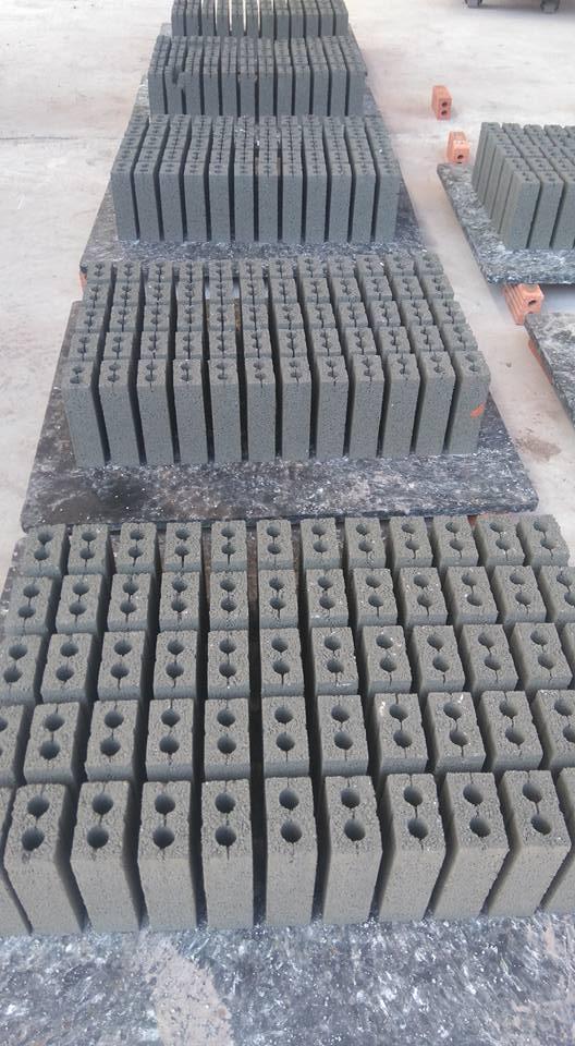 Gạch bê tông 2 lỗ