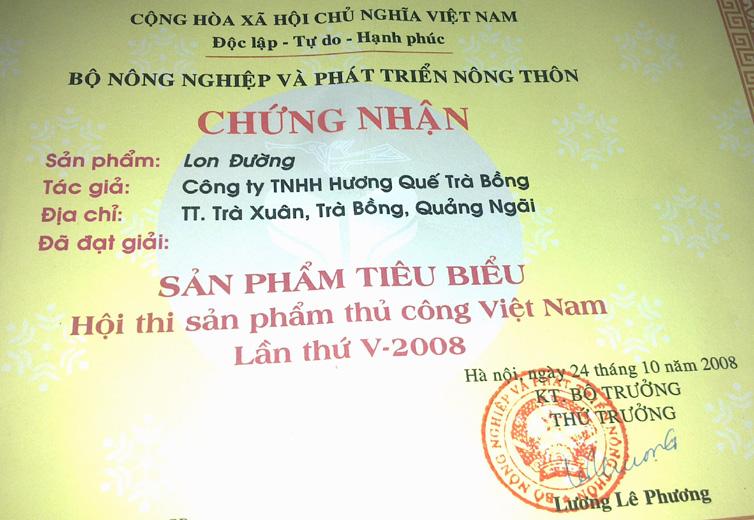 chung nhan lon duong