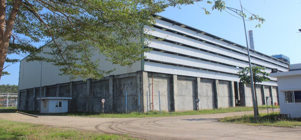 Kho chứa nguyên liệu / nhiên liệu của Nhà máy